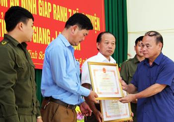 Công an xã Minh Sơn làm tốt công tác đảm bảo an ninh trật tự