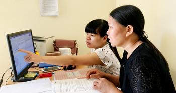 Ứng dụng phần mềm đăng ký, quản lý hộ tịch dùng chung