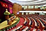 Thông cáo báo chí ngày làm việc đầu tiên của Hội nghị Trung ương 8