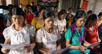 Hội Liên hiệp Phụ nữ huyện Lộc Bình: Đa dạng hình thức tuyên truyền pháp luật