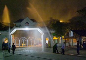 Đảm bảo an toàn phòng cháy chữa cháy tại chợ Đông Kinh