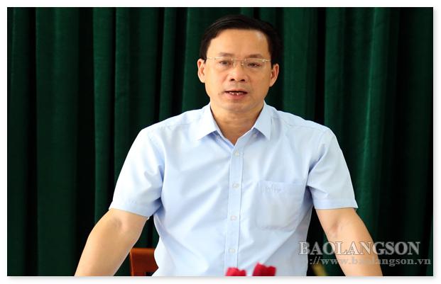 Thường trực Tỉnh ủy Lạng Sơn làm việc với Trường Chính trị Hoàng Văn Thụ