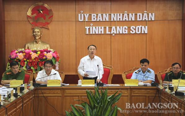 Lạng Sơn sơ kết chống buôn lậu và gian lận thương mại và hàng giả 9 tháng đầu năm