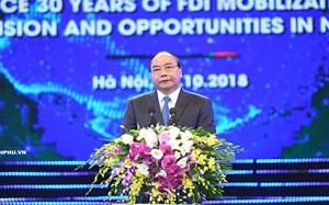 Thủ tướng khuyến khích đầu tư nước ngoài tiếp cận công nghệ tương lai