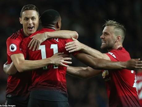 M.U ngược dòng giành chiến thắng ngoạn mục tại Old Trafford