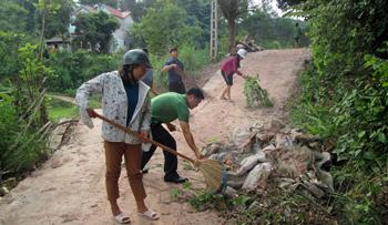 Xây dựng nông thôn mới: Quyết tâm ở Đình Lập