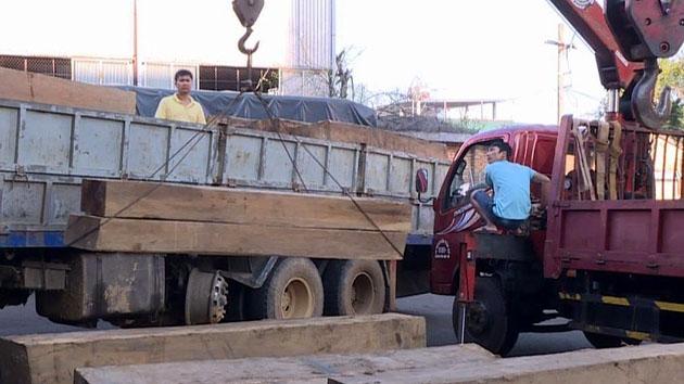 Bắt giữ hơn 30 m3 gỗ lậu