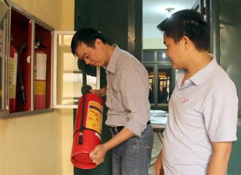Chi cục Văn thư - Lưu trữ làm tốt công tác phòng cháy