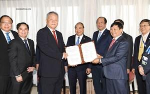 Thủ tướng chứng kiến thỏa thuận hợp tác hạ tầng Việt Nam- Indonesia