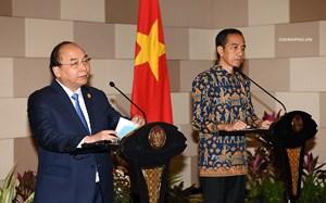 Việt Nam-Indonesia nhất trí đưa kim ngạch song phương đạt 10 tỷ USD