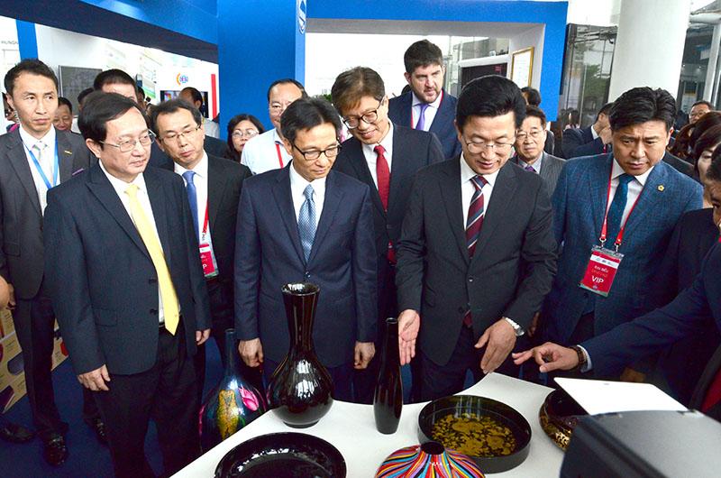 16 doanh nghiệp đến từ Hàn Quốc tham gia Hội chợ công nghệ cao WTA