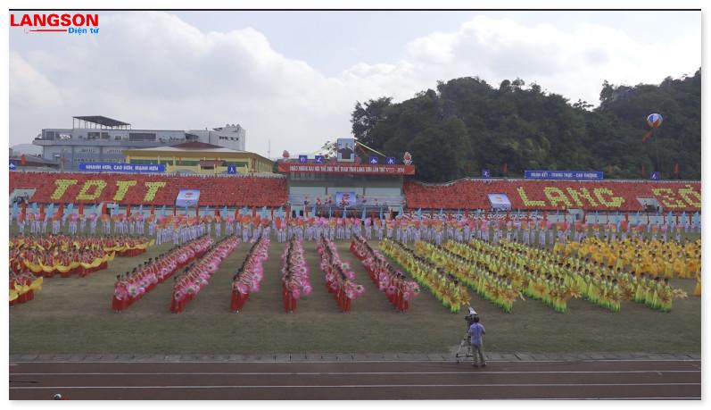 Lạng Sơn khai mạc Đại hội Thể dục thể thao tỉnh lần thứ VIII