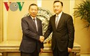 Bộ trưởng Tô Lâm gặp Phó tỉnh trưởng tỉnh Liêu Ninh (Trung Quốc)