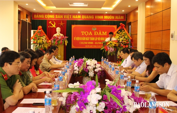 Toạ đàm kỷ niệm 88 năm ngày thành lập Hội Nông dân Việt Nam