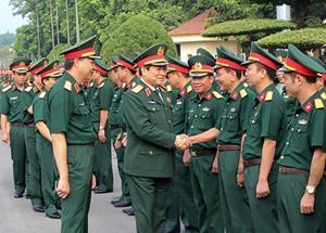 Quân đoàn 1 phải là đơn vị đi đầu trong các quân đoàn chủ lực