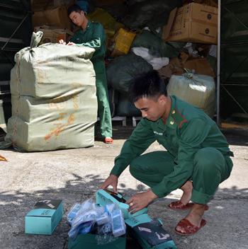 Bộ đội Biên phòng tỉnh: Chặn buôn lậu qua biên giới