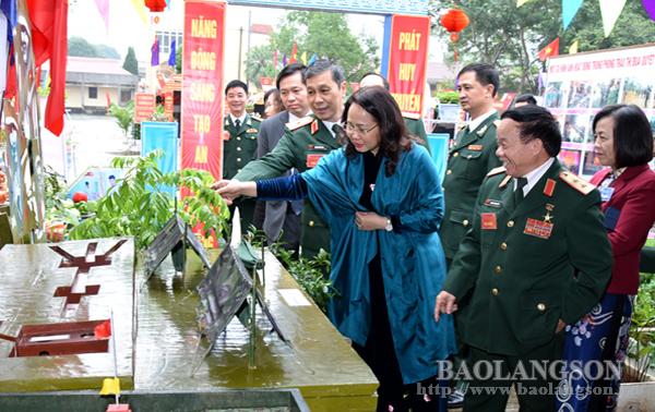 Bí thư Tỉnh ủy Lạng Sơn dự Đại hội thi đua quyết thắng lực lượng vũ trang tỉnh