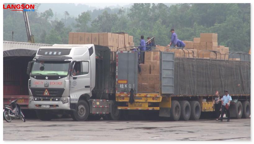 Kim nghạch xuất nhập khẩu đạt hơn 3.500 triệu USD