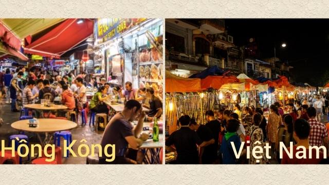 Lý do để Việt Nam và Hồng Công (Trung Quốc) trở thành địa điểm du lịch hàng đầu châu Á