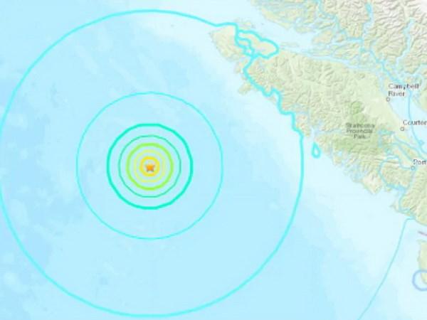 Trận động đất mạnh 6,7 độ làm rung chuyển cực Tây Canada
