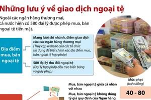 Nhận diện các hành vi mua bán ngoại tệ trái pháp luật