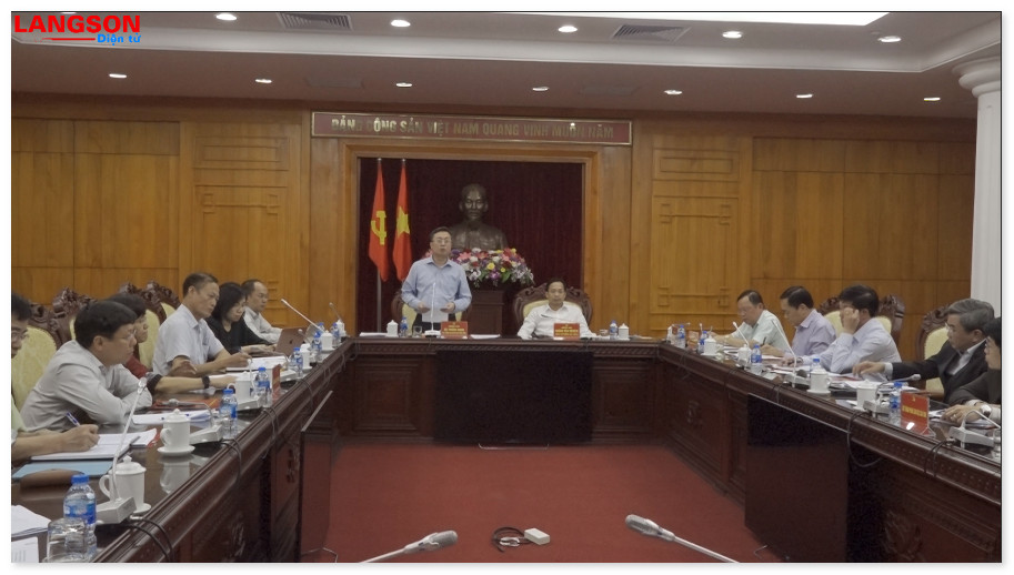 Đoàn công tác Trung ương khảo sát công tác thông tin đối ngoại tại Lạng Sơn