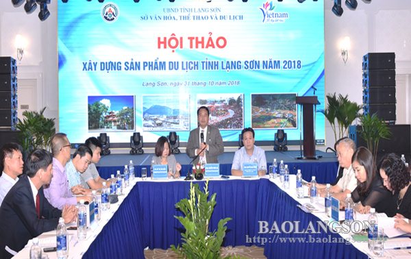Hội thảo xây dựng sản phẩm du lịch Lạng Sơn