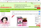 Cẩn trọng thông tin quảng cáo thực phẩm bảo vệ sức khỏe Fine Pure Collagen Q