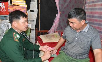 Đồn Biên phòng Na Hình: Hiệu quả chương trình kết hợp quân - dân y