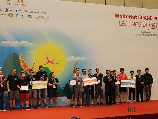 Đội Nga giành giải nhất cuộc thi An toàn không gian mạng toàn cầu
