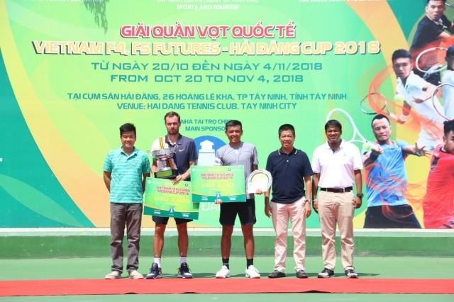 Bế mạc Giải quần vợt quốc tế Việt Nam F5 Futures