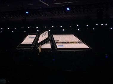 Samsung chính thức giới thiệu mẫu điện thoại màn hình gập