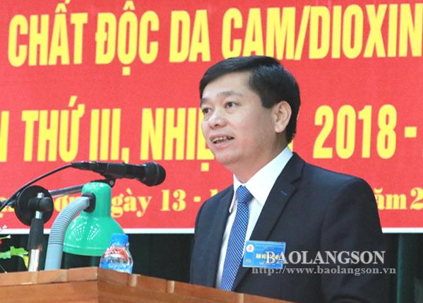 Hội Nạn nhân chất độc da cam Lạng Sơn Đại hội nhiệm kỳ 2018 - 2023