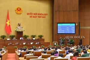 Quốc hội phân bổ hơn một triệu tỷ đồng ngân sách trung ương