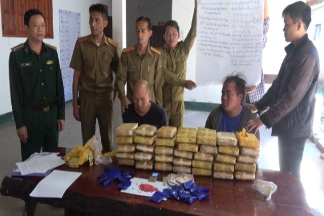 Phá thành công đường dây ma túy xuyên quốc gia