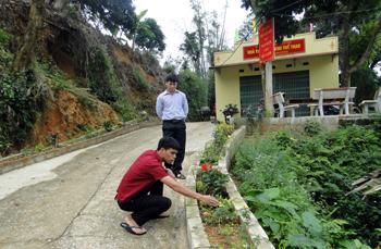 Xã nông thôn mới Hải Yến học và làm theo gương Bác