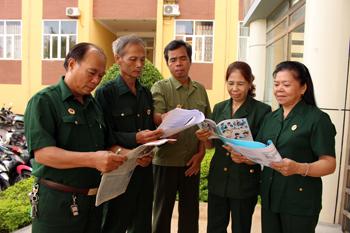 Cựu chiến binh góp sức bảo vệ môi trường