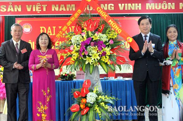 Hội Khuyến học tỉnh Lạng Sơn Đại hội nhiệm kỳ 2018 – 2023
