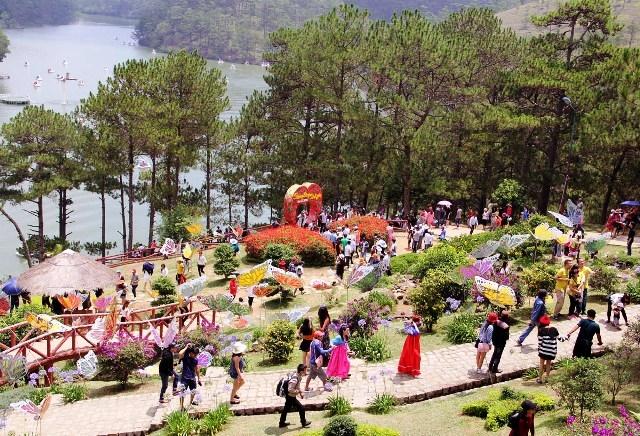 Đà Lạt - Lâm Đồng đón hơn 6,5 triệu lượt du khách năm 2018