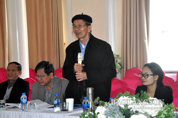 Hội thảo khoa học nghiên cứu, bảo tồn và phát huy đặc trưng văn hóa Xứ Lạng
