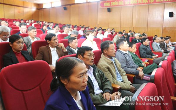 Bắc Sơn: Đối thoại trực tiếp giữa cấp ủy, chính quyền với Nhân dân