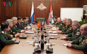 Đối thoại Chiến lược quốc phòng Việt Nam - Nga lần thứ tư