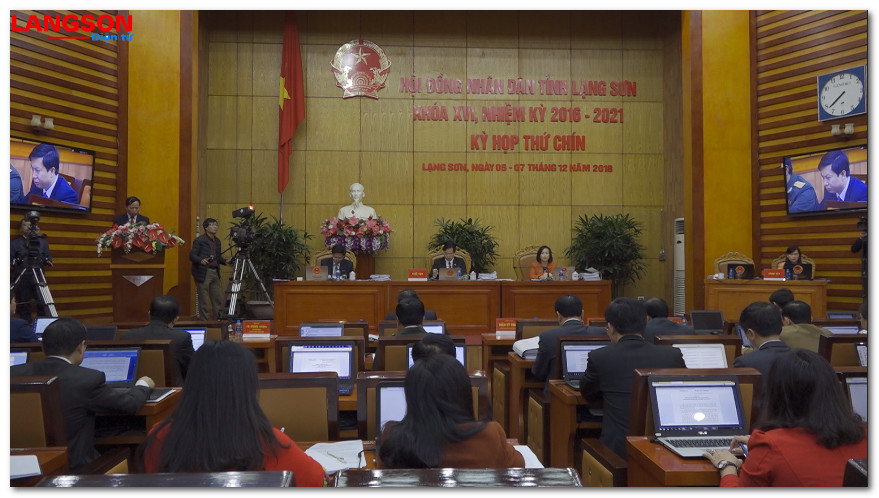 HĐND tỉnh Lạng Sơn khóa XVI bế mạc kỳ họp thứ 9