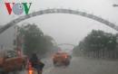 Mưa lớn, nhiều tuyến đường ở TP Vinh bị ngập sâu