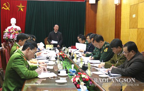 Chấn chỉnh công tác chống buôn lậu gia cầm qua khu vực cửa khẩu Chi Ma