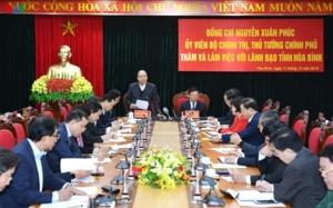 Thủ tướng yêu cầu nghiên cứu căn bản vùng chân đập sông Đà