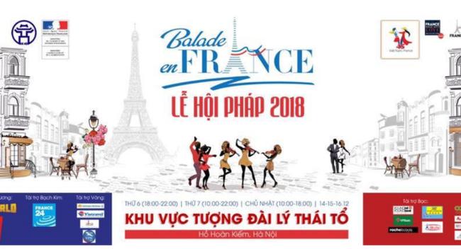 Lễ hội văn hóa Pháp tại Hà Nội