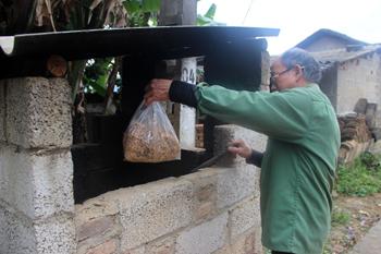 Bể thu gom rác thải nông thôn: Góp phần bảo vệ môi trường