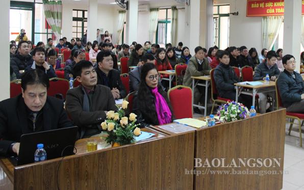 Tuyên truyền, đào tạo về hiến ghép tạng tại Lạng Sơn