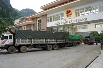 Tăng cường năng lực thông quan hàng hóa cửa khẩu Tân Thanh: Bài toán đã có lời giải